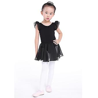 Lapset Leotard Tutu Dance Wear Puvut Baletti leotards Ballerina