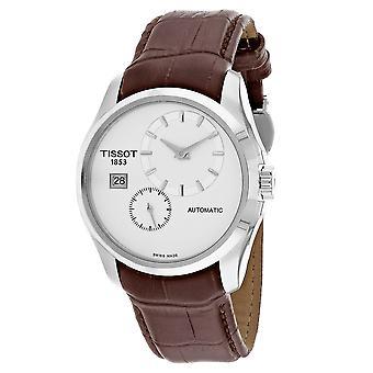 Tissot Men's Courturier White Dial Watch - T0354281603100