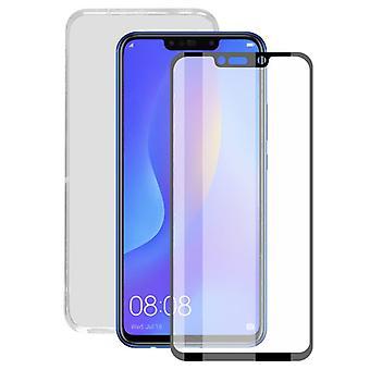 Gehard glas mobiele screenprotector mobiele hoes huawei mate 20 lite contact