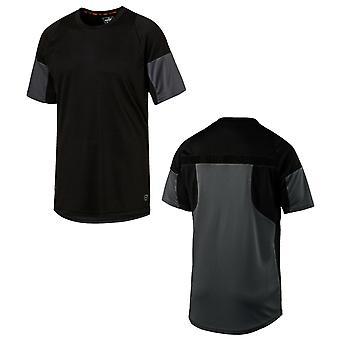 Puma ftblNXT Grafika Mężczyźni Szkolenia Top Krótki rękaw T-Shirt Blck 655783 01 A16E