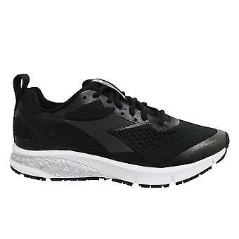 Diadora Kuruka 2 Black Low Lace Up Womens Running Trainers C0199