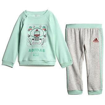Adidas French Terry Graphic Jogger Unisex Tracksuit Sweatshirt Pants DV1280