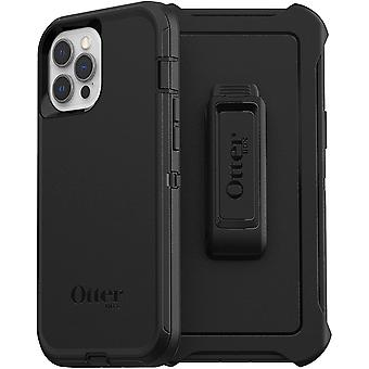 OtterBox Defender Series, Rugged Protection for Apple iPhone 12 Pro Max - Black