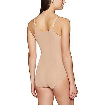 Arabella Women's Mesh Body Shaper Shapewear, Alaston, Keskikokoinen, Alaston, Keskikokoinen