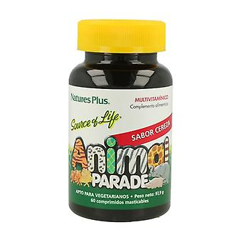 Animal Parade (Cherry Flavor) 60 tablets
