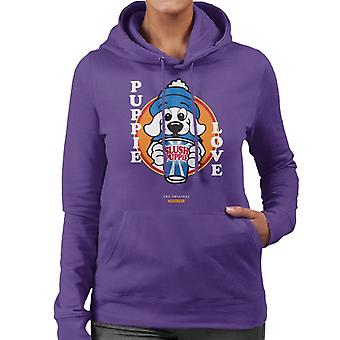 Slush Puppie Love Cartoon Women's Hooded Sweatshirt