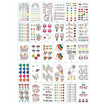 Gnuggisar - tattoos for children 30 sheets with colorful motifs