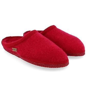 Red Cooked Wool Haflinger Kashmir Slipper