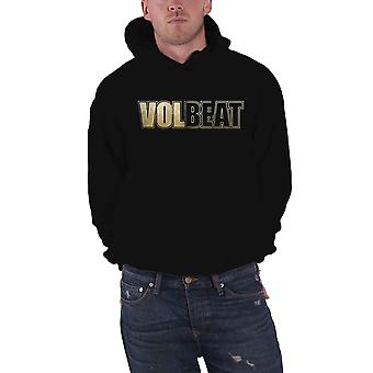 Volbeat Hoodie Bleeding Crown Skull Band Logo new Official Mens Black Pullover