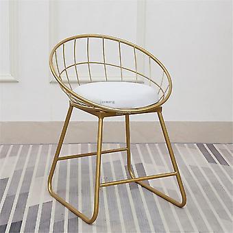Nieuwe kruk bar eenvoudige smeedijzeren stoel moderne dining pub accessoires