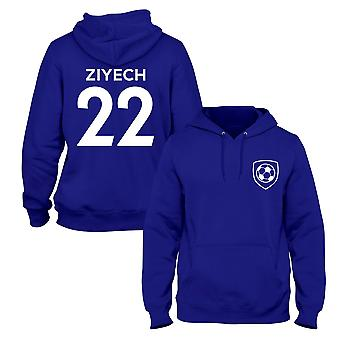 Hakim Ziyech 22 Club Style Player Football Hoodie