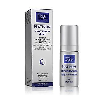 Platinum Night Renew Serum 30 ml de serum