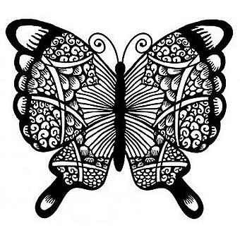 Kreative uttrykk Mosaic Butterfly Stamp