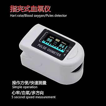 جهاز مؤكسد الإصبع OLED عالية الوضوح عرض كاشف معدل ضربات القلب oximeter