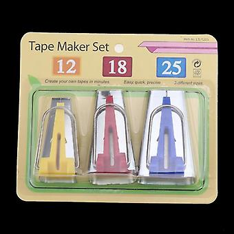 Sewing Accessories Bias Tape Makers - 5 Size 6mm 9mm 12mm 18mm 25mm Bias