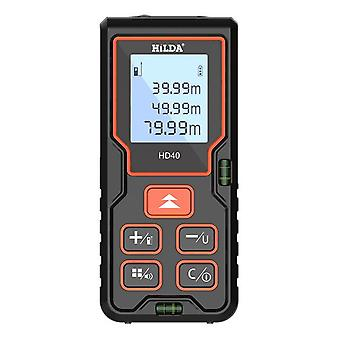 Hilda laser rangefinder distance meter 100m finder building measure ruler laser tape range device rulerfinder build measure