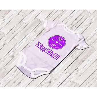 Strong Baby Onesie