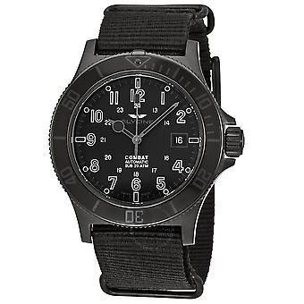 Glycine Combat Sub Automatic Black Dial Men's Watch GL0086