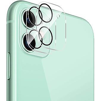 HaiFei Kamera Panzerglas fr iPhone 11, [2 Stck] KristalHaiFeilar Kamera Schutzfolie Anti-Kratzen