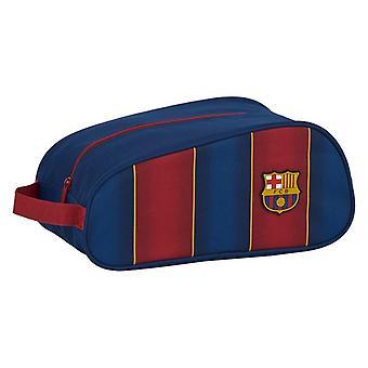 Matka tossunpidike F.C. Barcelona Polyesteri Maroon Navy Sininen
