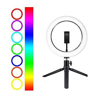10inch/26cm RGB Ring Light LED Fill-in Light