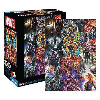 Marvel - mcu collage 3000 stukjes puzzel