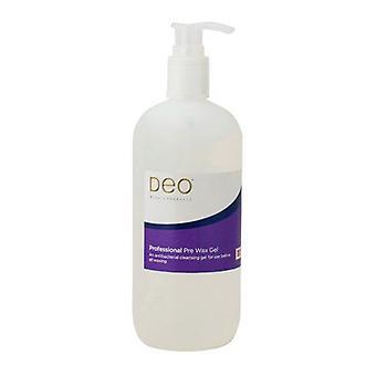 DEO Professional Pre Wax Gel - Nettoyeur de cire - Enlève les huiles pour le corps - 500 ml