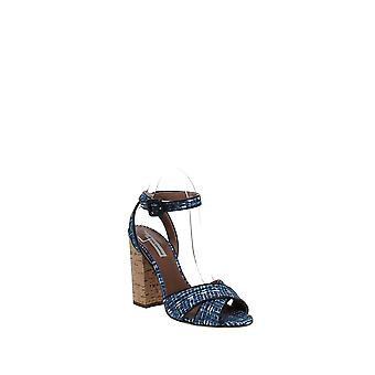 Tabitha Simmons   Connie Ankle Strap Block-Heel Sandals