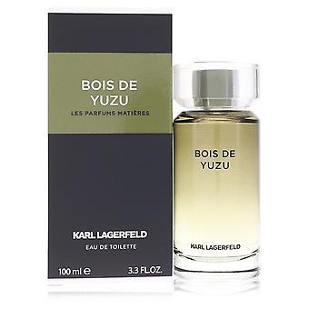 Bois De Yuzu door Karl Lagerfeld Eau De Toilette Spray 3.3 oz