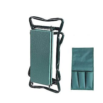 Portable Garden Kneeler With Handles Folding Stool/chair With Eva Kneeling Pad