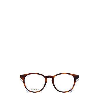 Gucci GG0486O havana kvindelige briller