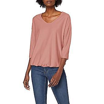 Tom Tailor Strukturiertes 3/4 Arm T-Shirt, Pink (Vintage Rose 10879), XS Women