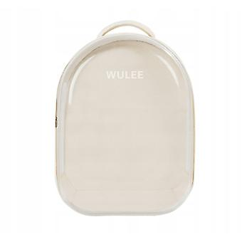Wulee Pet Cat Transparent Backpack Portable Breathable Foldable