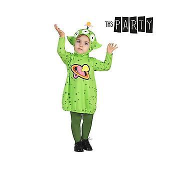 زي للأطفال الغريبة الخضراء