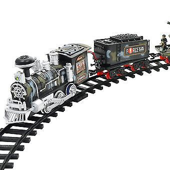 أحدث الكهربائية دينامية البخار RC المسار قطار مجموعة نموذج محاكاة