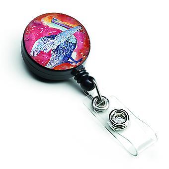 Caroline Sagenzes Schätze Pelikan versenkbare Abzeichen Reel, multicolor (8360Br)