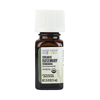 Aura Cacia Organic Essential Oil, Rosemary Verbone .25Oz
