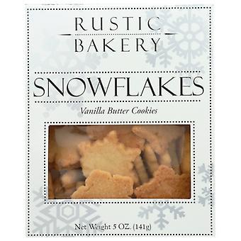 Rustikálna pekáreň Cookie Vnla Mini Snwflke, prípad 12 X 5 Oz