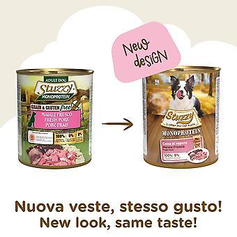 Stuzzy Monoprotein 800 gr Cerdo Fresco (Hunde, Hundemad, Våd mad)