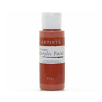 Clay docrafts Artiste All Purpose Acrylic Craft Paint - 59ml