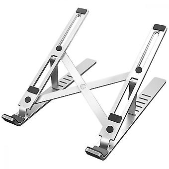 Srotek Laptop Stand For Macbook Pro Notebook Stand Foldable Aluminium Alloy Tablet Stand Bracket Laptop Holder For Notebook,silver
