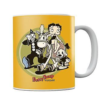 Betty Boop Vintage Circus Crew Mug
