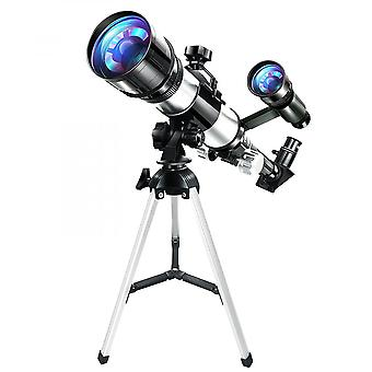 Kids Astronomical Telescope Hd 70mm Magnification Scope With Adjustable Tripod
