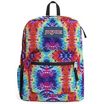 Jansport Cross Town Backpack - Red Hippie
