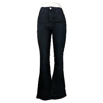 Skinnygirl Women's Jeans High Rise Flared Jeans Dark Indigo Blue 681119