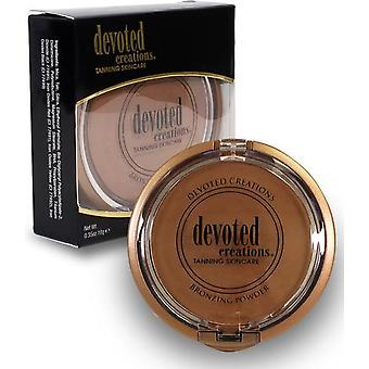 Devoted Creations Tanning Bronzing Mineral Powder Mattifying Buildable - 10g