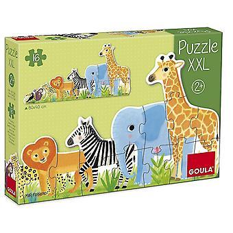 Jigsaw puzzles goula jungle puzzle 2x-large