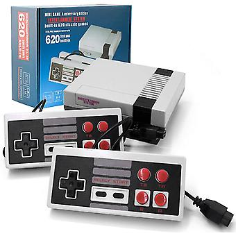 Retro Game Console Classic Handheld Av Output Video Player 620 Games