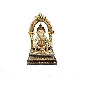 """11"""" Ganesha Figur Geschenk Idee Statue Religion Hand gemalt"""