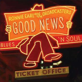 Ronnie Earl & the Broadcasters - Good News [CD] USA import